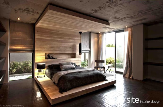 Desain Kamar Minimalis 3x4 African Style House By Site Interior Design, South Africa