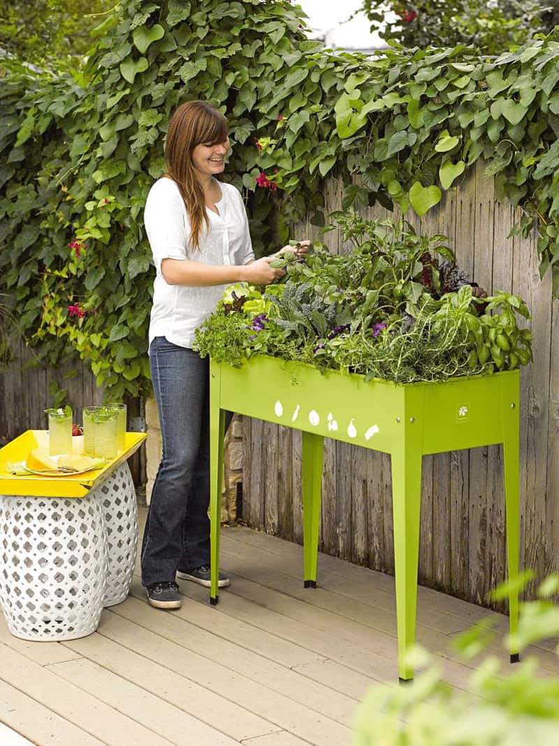 Amazon Table Jardin Garden Tables Help You To Grow Veggies, Herbs And Flowers