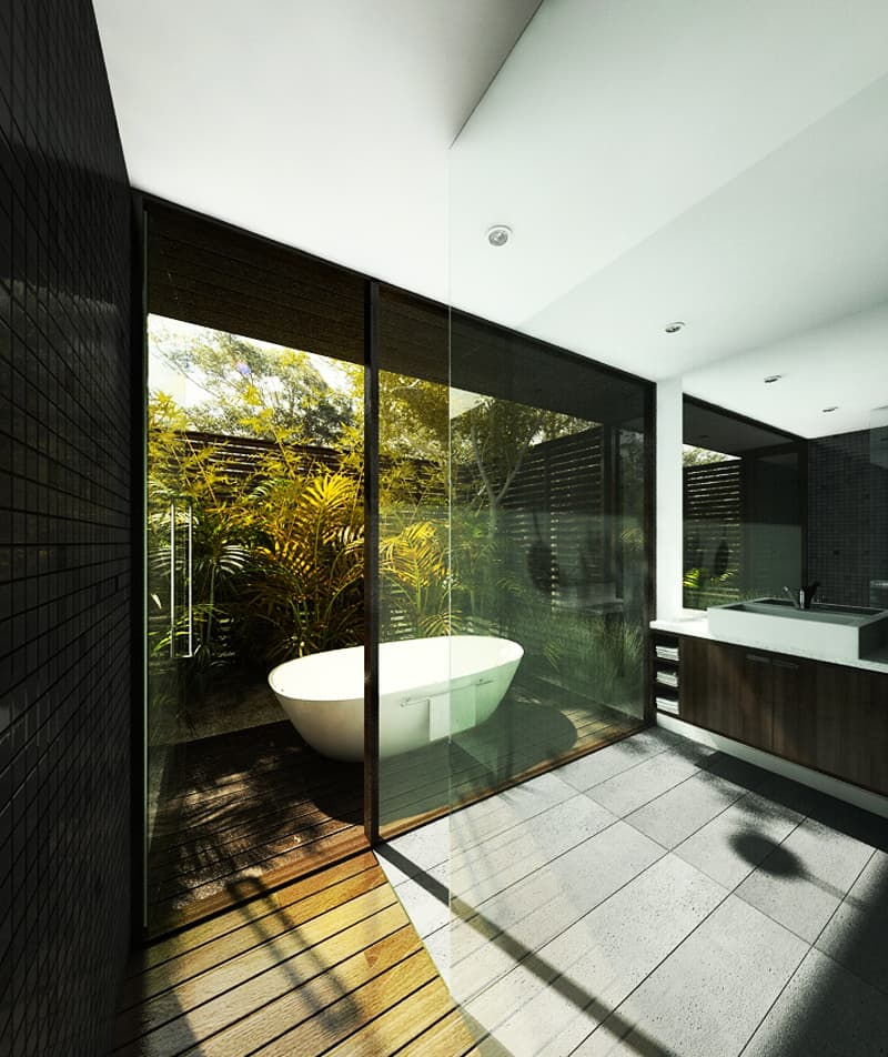 35 Ideas Of Outdoor Bathrooms That Go Into The Wild Part 1