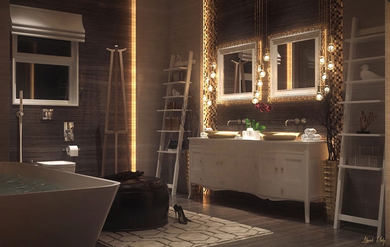 Led Zimmerbeleuchtung Amazing Luxury Bathroom Design Ideas For Your Private Heaven
