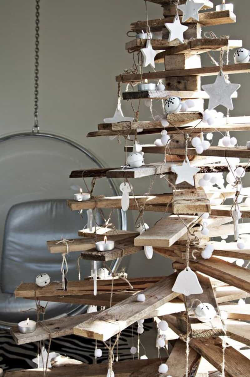 Maison Du Monde Décoration De Noel 25 Ideas Of How To Make A Wood Pallet Christmas Tree