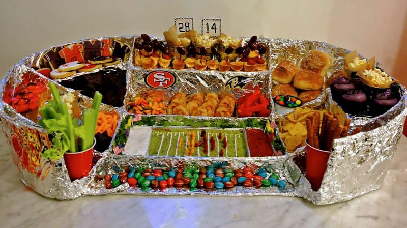 Decoration Americaine Anniversaire 20 Incredible Snack Football Stadiums