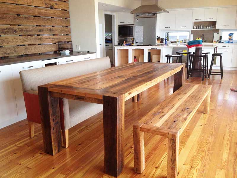 30 Kitchen Tables With Bench Seats Design Ideas - kitchen table designs