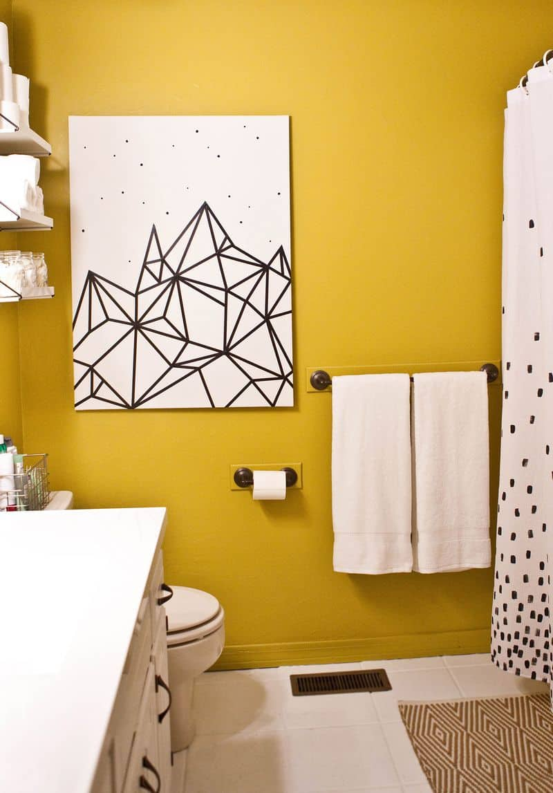 Wall Art With Tape - Elitflat