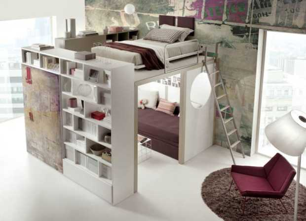 ideas of space saving beds bedroom