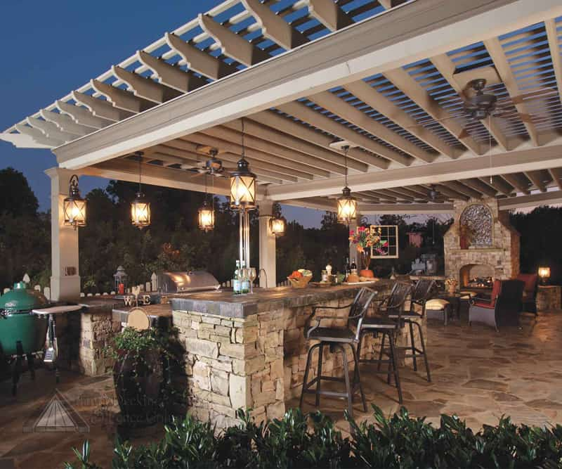 Garten Küche Mit Grill 40 Modern Pergola Designs And Outdoor Kitchen Ideas