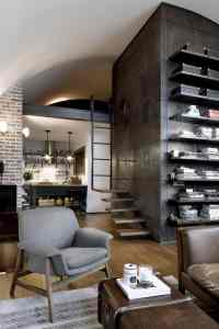 Top 10 Charming Apartments Decorated in Industrial Style