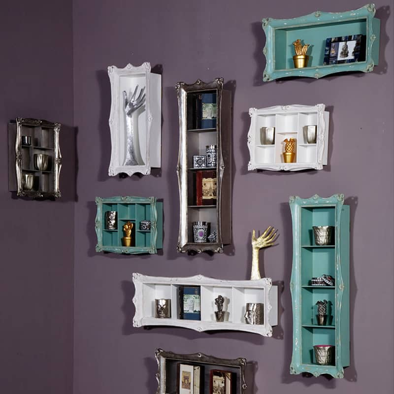 Wandregal Bad Creative Wall Decoration With Picture Frame Shelves