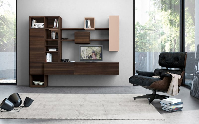 30 Modern Living Room Wall Units With Storage Inspiration - wall units for living rooms