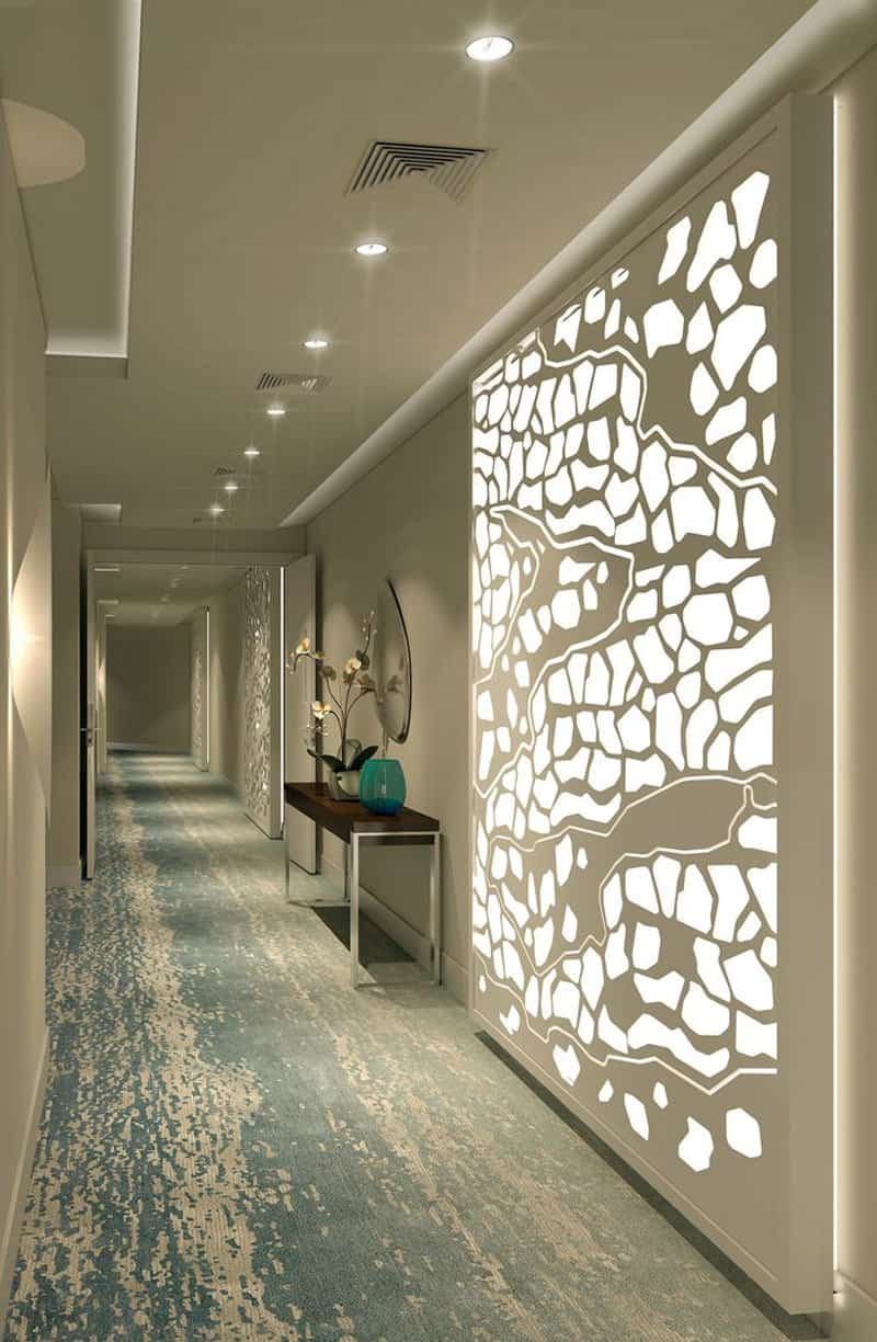20 Long Corridor Design Ideas Perfect For Hotels And - Flur Design