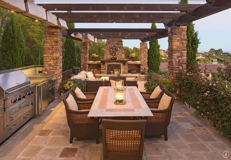 Techos Exteriores Terraza Let's Eat Out! 45 Outdoor Kitchen And Patio Design Ideas