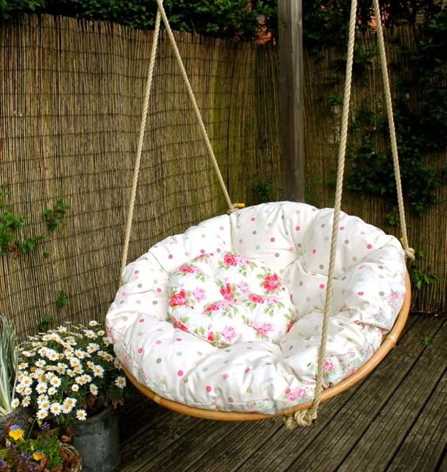 Hamac Rond Rock The 70's With These Cheap Papasan Chairs For Sale