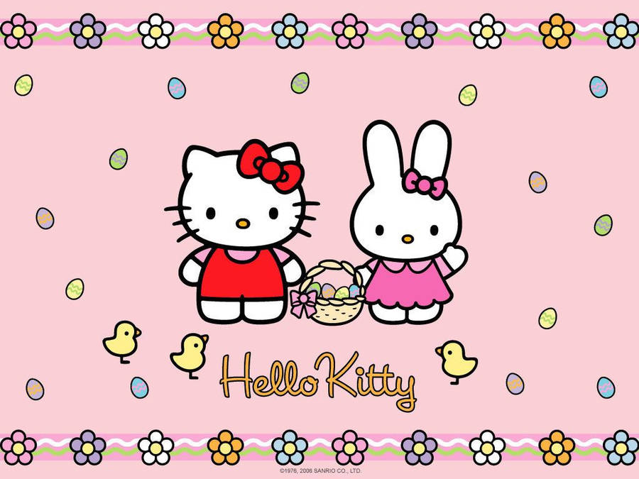 Cute Wallpapers Of Hello Kitty Pink Hello Kitty Wallpaper Cartoon Wallpapers 28295
