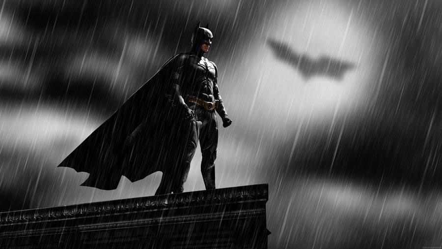 Wallpaper Superhero Marvel 3d Batman In The Darkness In The Dark Knight Wallpaper