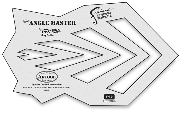Airbrush Templates and Stencils - Art Supplies at BLICK art - airbrush templates