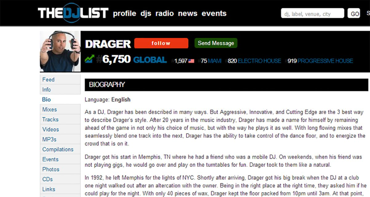 Dj Bio Template - Eliolera - microsoft word biography template