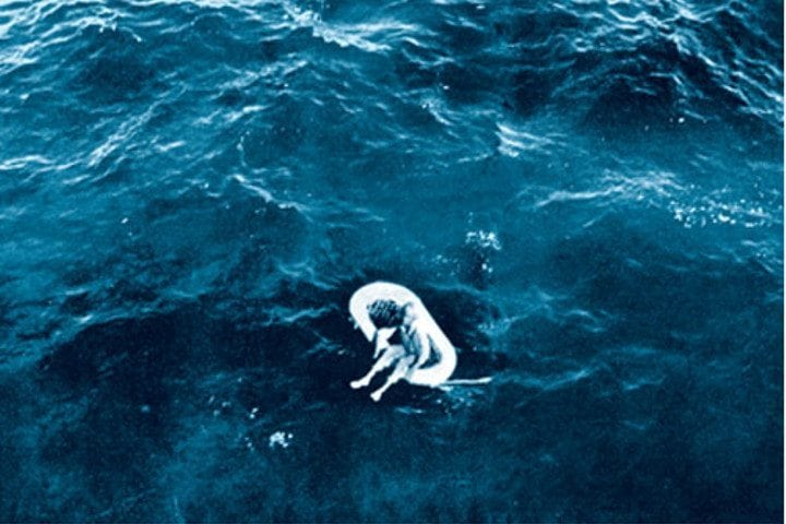 Dream Of Wallpaper Falling Down The Terrifying Tale Of A Lone Girl Found Adrift At Sea