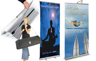 Pop Up Banners Advertise Brands And Promote Events