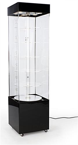 Rotating Display Case Acrylic 72quot Height