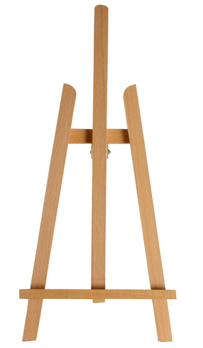 Easels Wood Easel For Countertop Use Standard Tripod Design 7 5 X 16 5 Natural