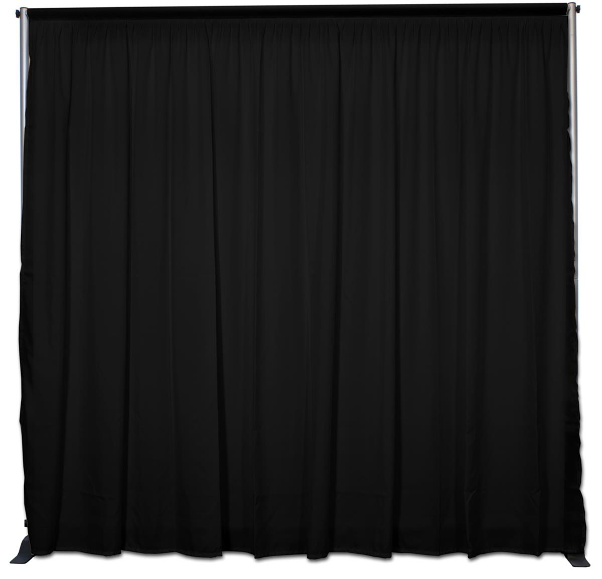 Schwarzer Vorhang Booth Backdrop 10 39 1 5 Quotw Pipe N Drape Back Wall