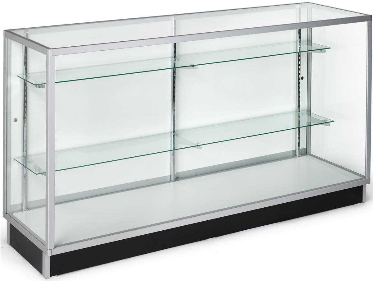 Glass Vitrine Glass Display Cabinets Ship Unasembled For Low Pricing
