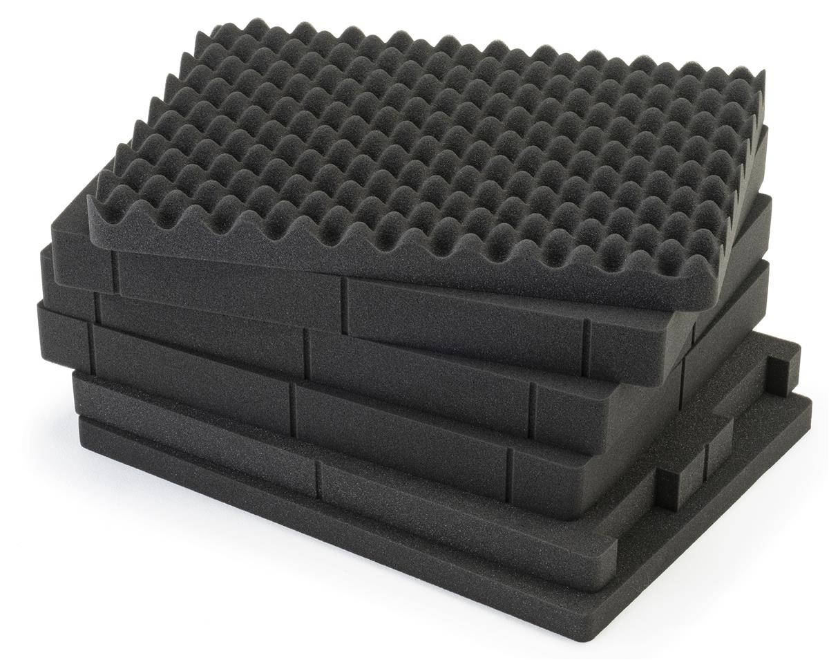 Sofa Foam Inserts Pick And Pluck Cubed Foam Insert Sheets Replacement For Jtcs2519bk Case Charcoal