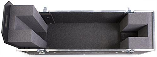 Monitor Case Foam Line For Protection Wheels For
