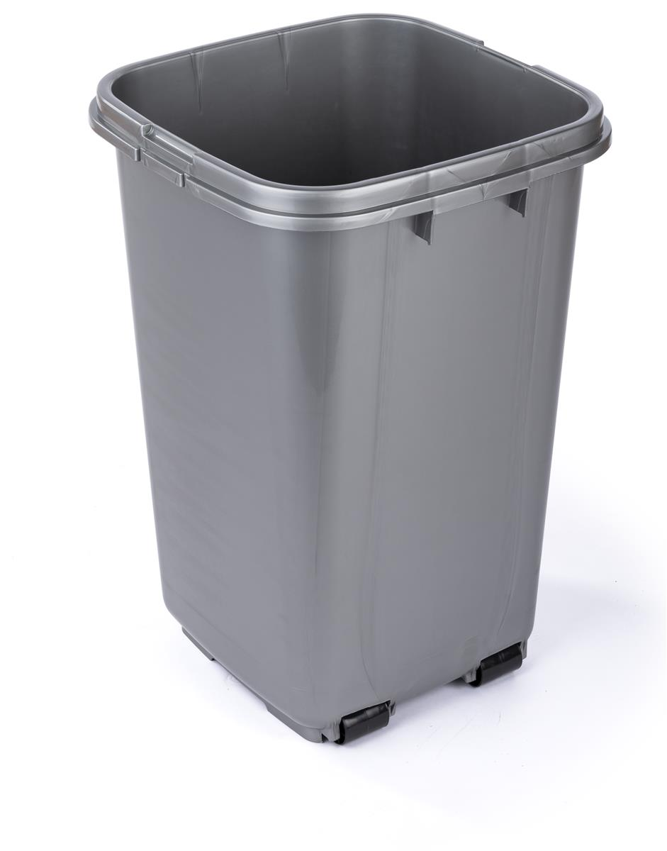 Laundry Trash Cans Trash Can Liner For 36 Gallon Receptacles Gray