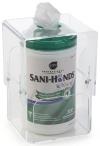 Wipe Canister Holder | Wall Mounted or Countertop Use