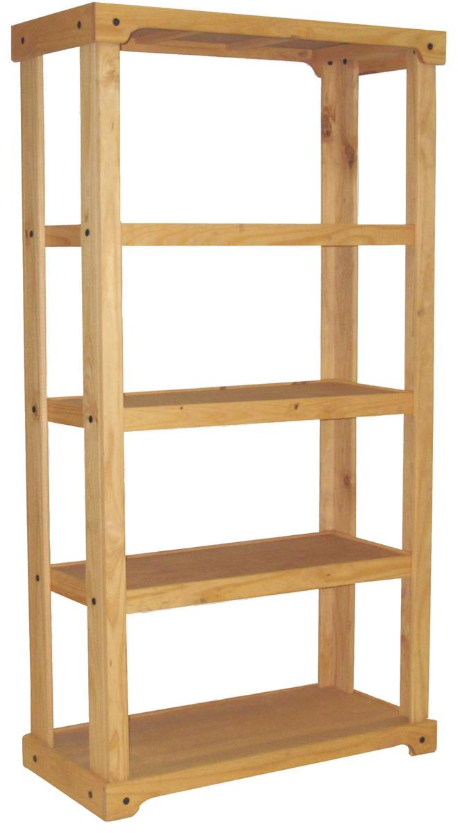 Store Shelving Wooden Retail Shelving Unit With 3 Shelves Open Back Oak