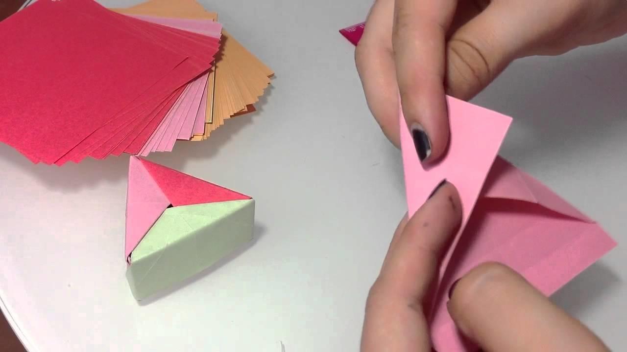 Schachtel Falten Aus A4 Papier Schachtel Falten Mit Deckel