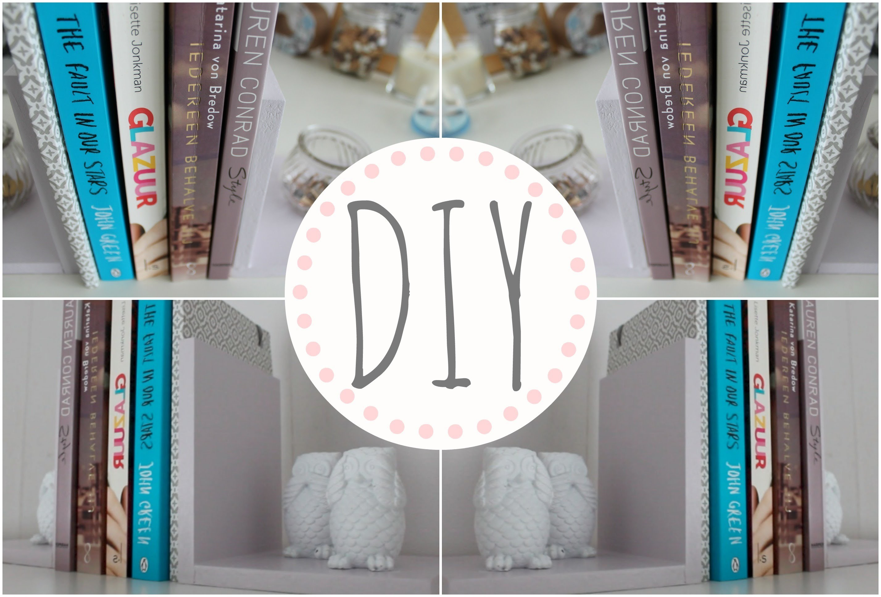 Kamer Decoratie Diy Leuke Boekensteunen Kamer Decoratie My Crafts And