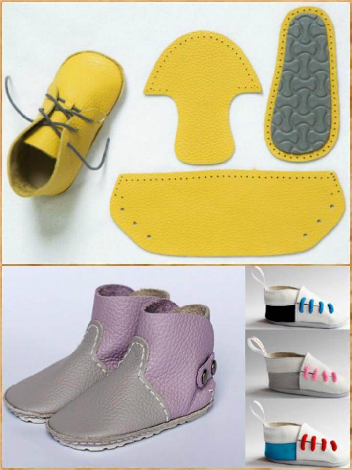 55+ DIY Baby Shoes with Free Patterns and Tutorials - DIY  Crafts