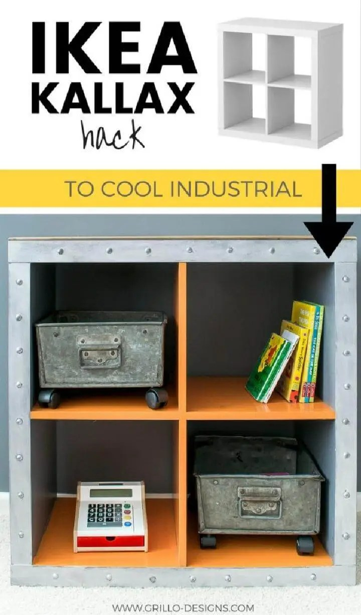 Aufbewahrungsbox Ikea Expedit 60 Ikea Kallax Shelf Hacks Or Diy Expedit Shelf Diy Crafts