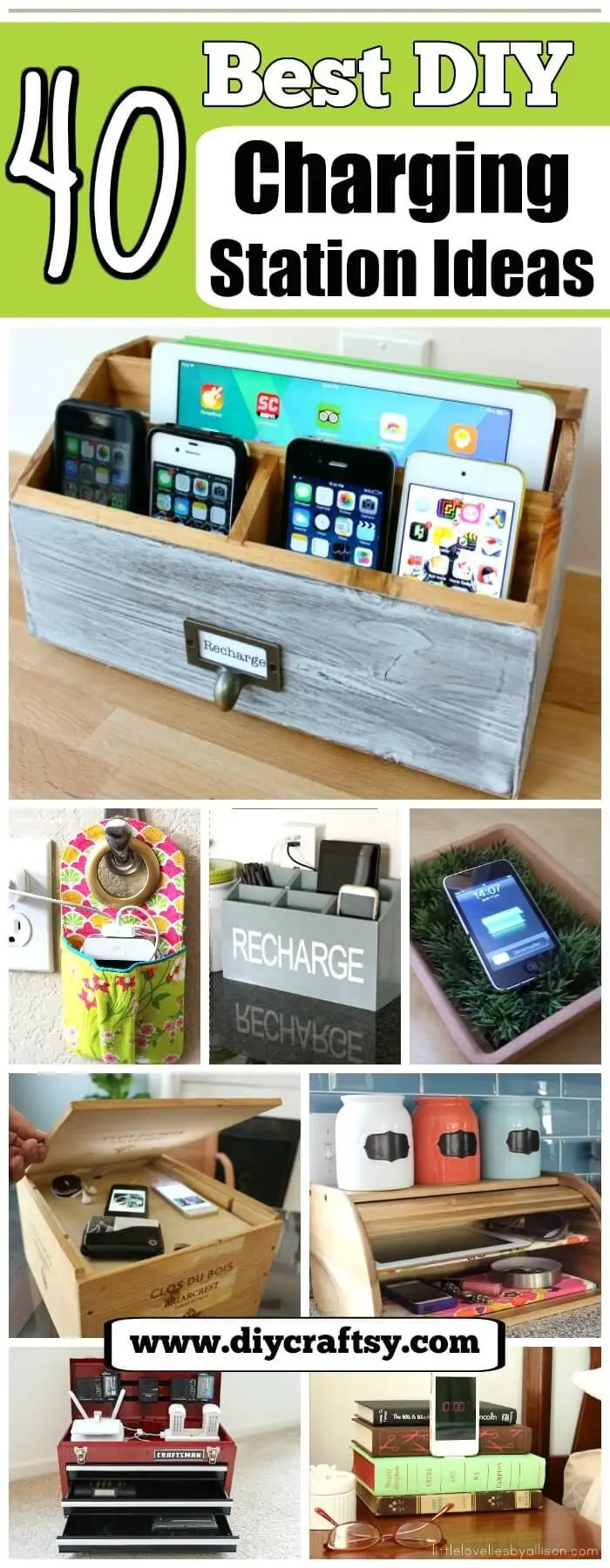Stylish Charging Station 40 Best Diy Charging Station Ideas Easy Simple Unique Diy