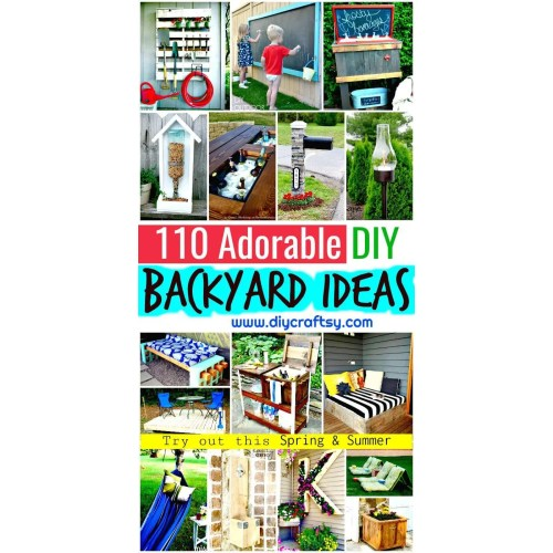 Medium Crop Of Backyard Projects Ideas