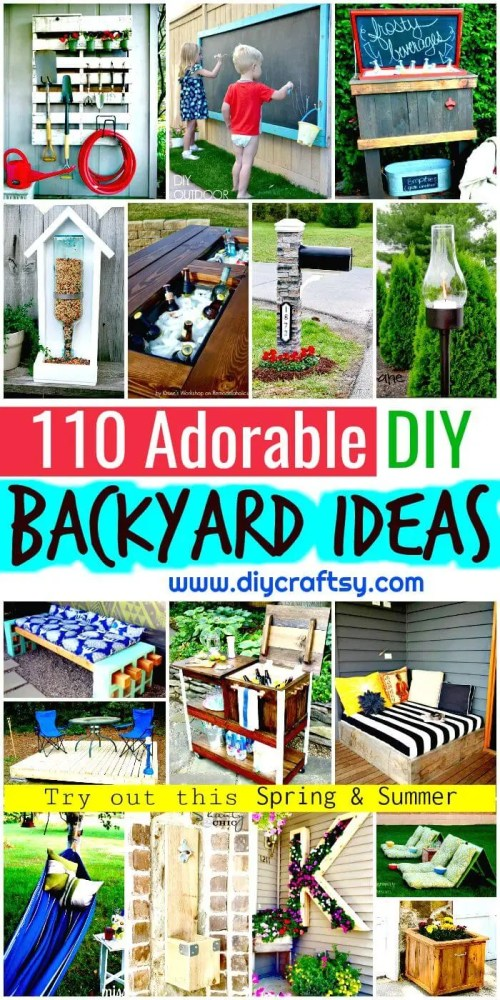 Medium Of Backyard Projects Ideas