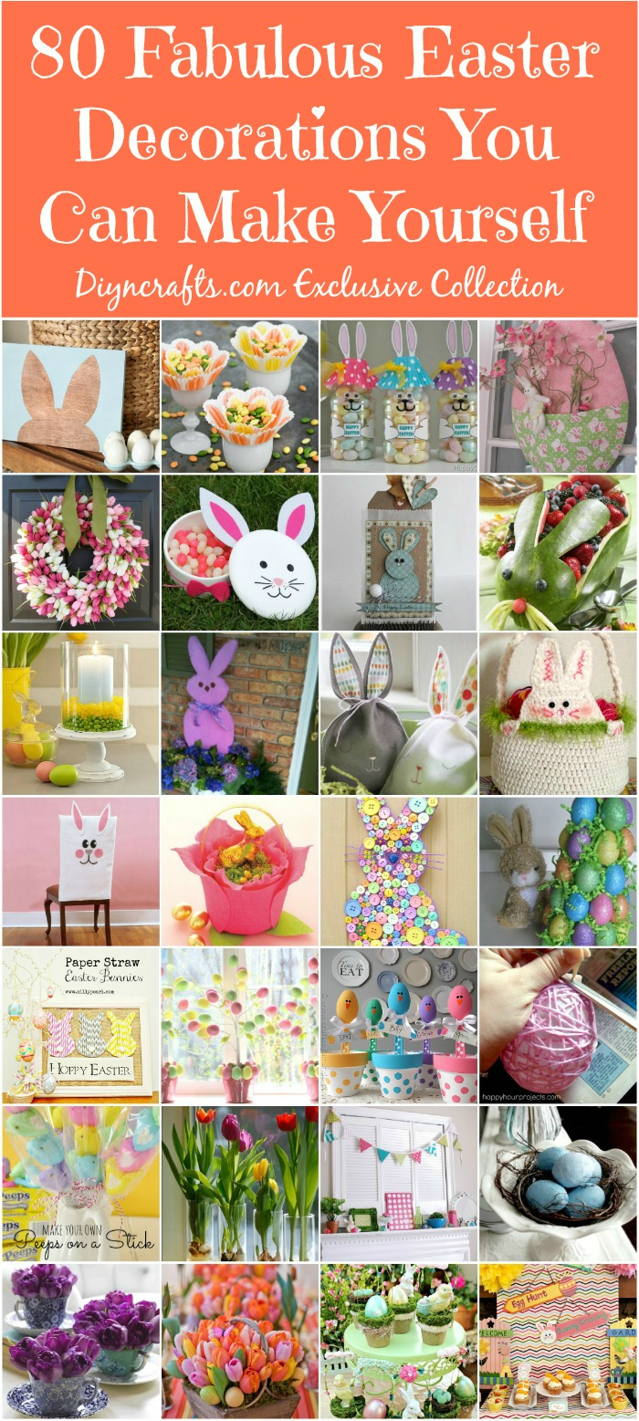 Art Decorating And Crafting 105 Diy Easter Decorations You Can Make Yourself Diy Crafts
