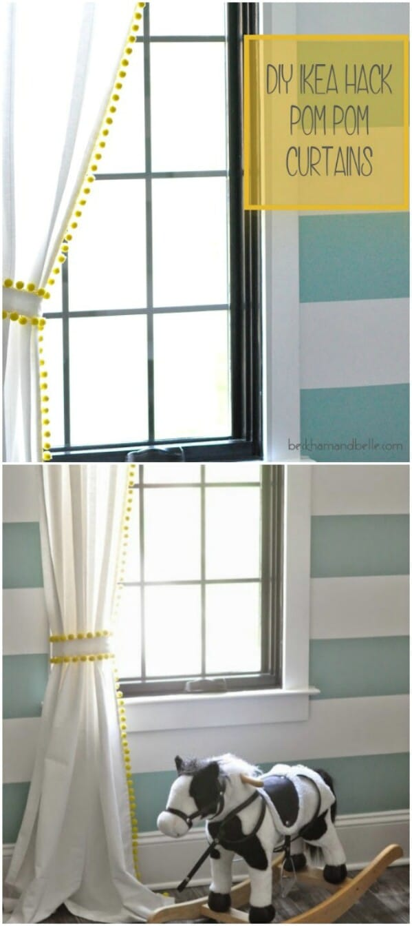 Curtain Ideas 20 Elegant And Easy Diy Curtain Ideas To Dress Up Your Windows