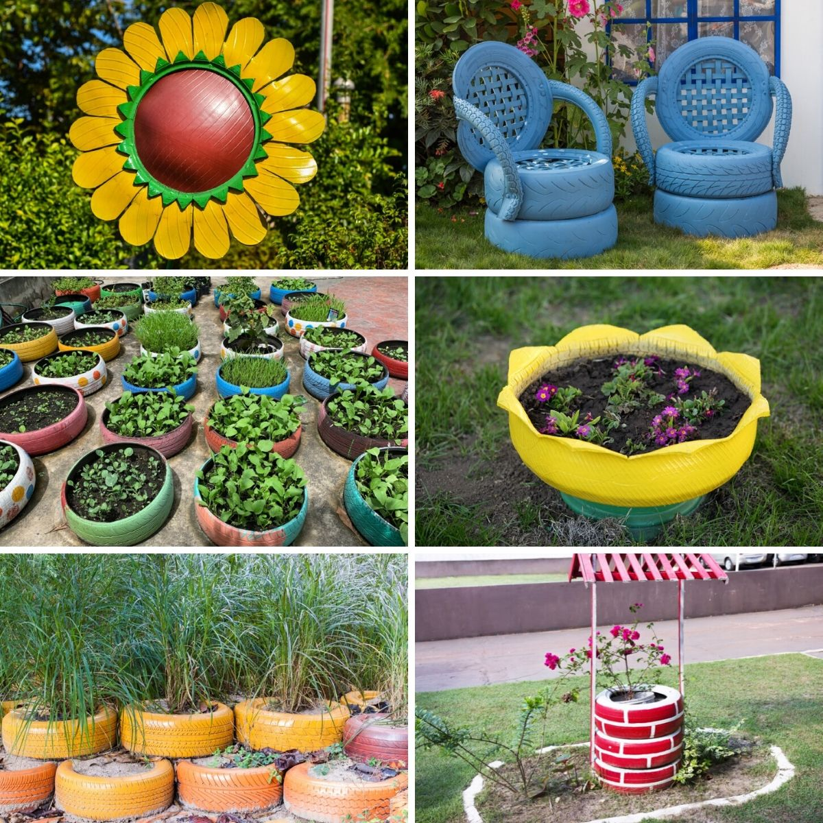 30 Creative Ways To Use Old Tires In Your Garden Diy Crafts