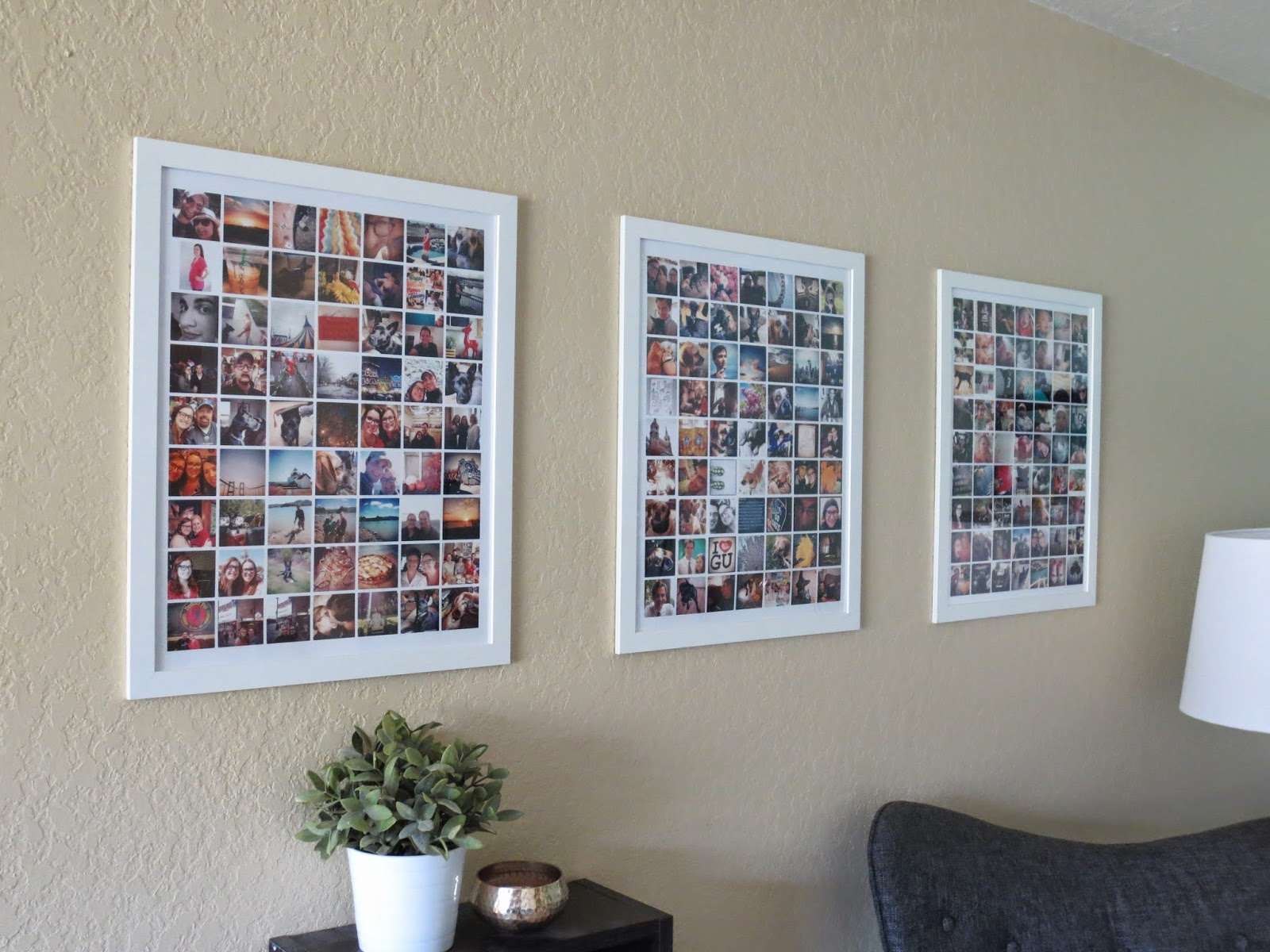 Montage Photo Cadre Multiple 32 Photo Collage Diys For A More Beautiful Home