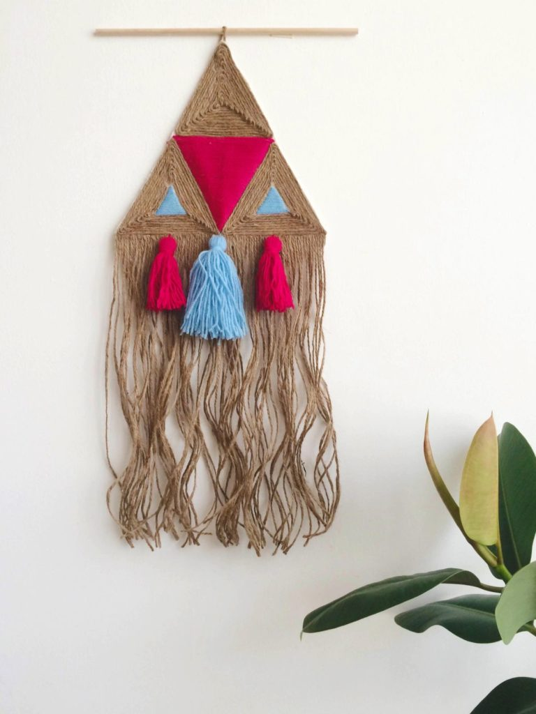 Ikea Hrs Diy Jute Wall Hanging