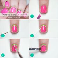 25 Simple Nail Art Tutorials For Beginners