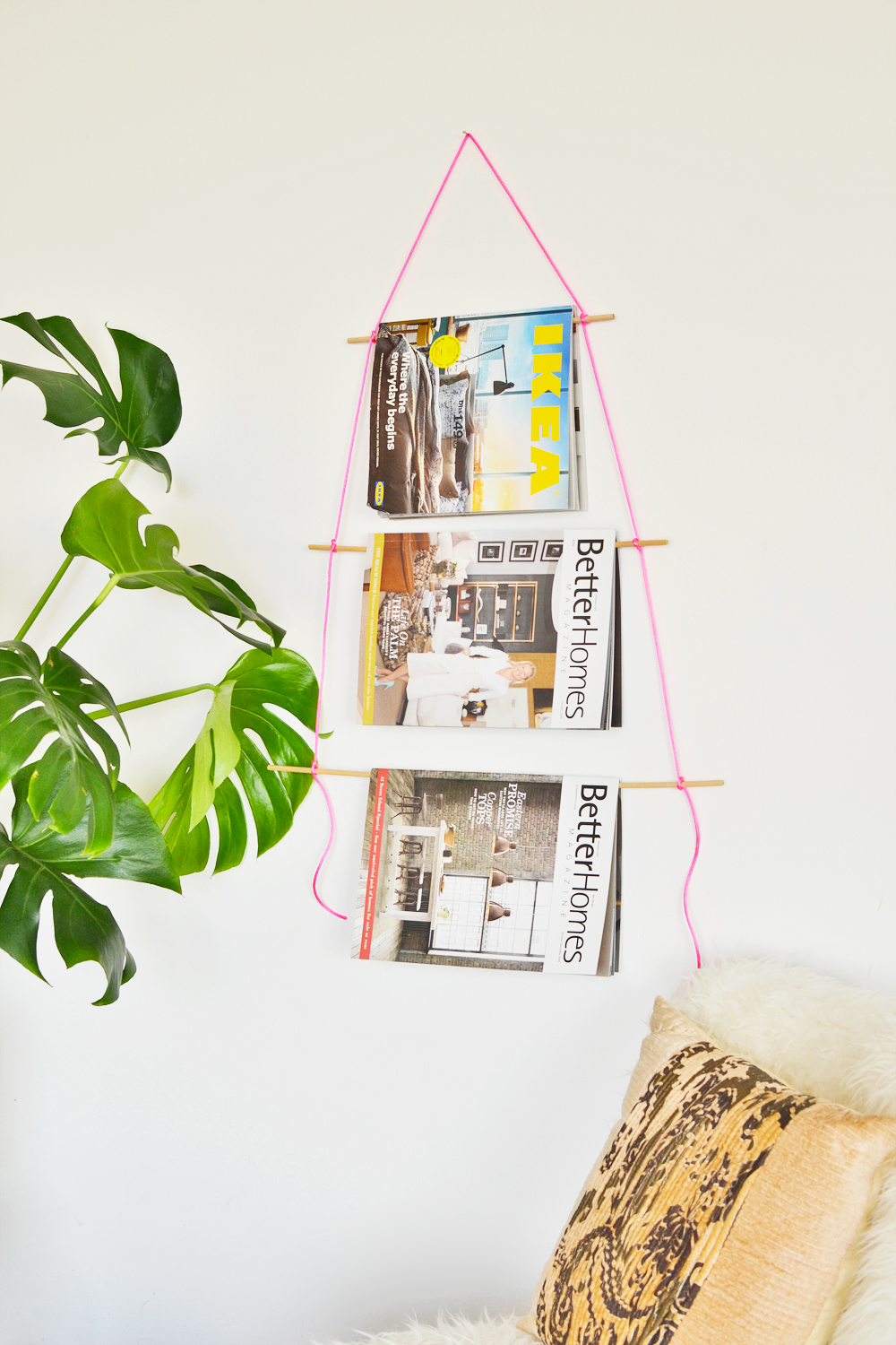 Zeitschriftenhalter Wand Diy Wall Hanging Magazine Holder