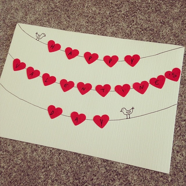Give Out Some Handmade Love With These 21 DIY Valentine\u0027s Day Cards