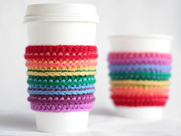These Free Crochet Coffee Cozy Patterns Will Make Your