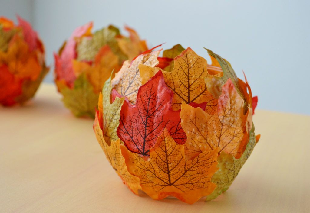 Maple Leaf Candle Holders