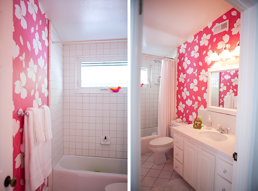 Pale Pink Wallpaper For Girl Nursery 25 Awesome Rooms With Colorful Wallpaper