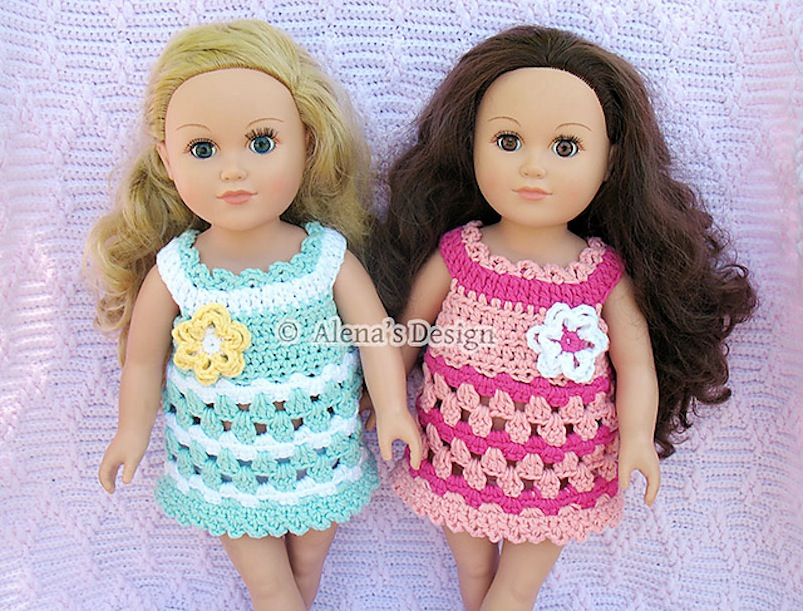 15 Adorable Crocheted Doll Clothing Patterns